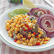 溫暖胃口的玉米暖沙拉