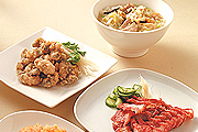 香菇肉粥配炸小菜最對味
