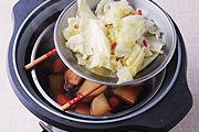 用電鍋一次煮三道菜