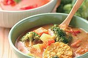健康美味的蔬菜湯