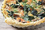 蔬菜鹹派簡單做