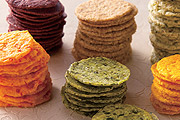 蔬菜泥做餅乾