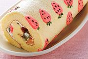 充滿趣味的蛋糕卷造型