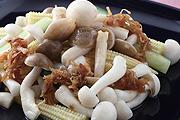 鮮菇 蒸煮上桌